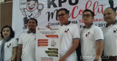 KPU Gelar Gerakan Coklit Serentak Mulai 20 Januari 2018