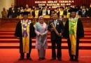 Jusuf Kalla Terima UNS Award 2018 Parasamya Anugraha Dharma Krida Baraya