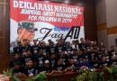 Relawan Deklarasikan Dukungan Terhadap Gatot Nurmantyo di Pilpres 2019