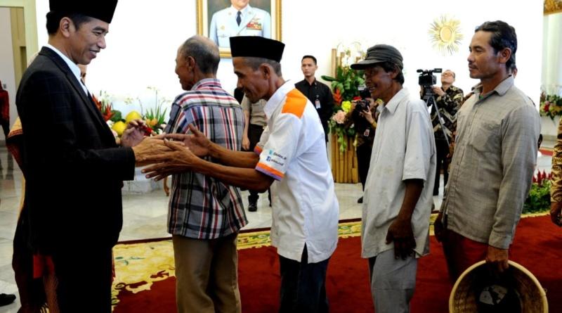 "Pejabat Negara hingga Penarik Becak Hadiri ""Open House"" Presiden di Istana Kepresidenan Bogor"