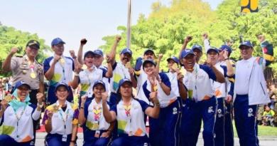 Menteri Basuki Jadi Pembawa Obor Asian Games di Solo