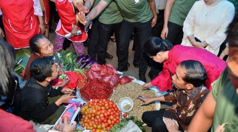 Presiden Blusukan Ke Pasar Gede Klaten