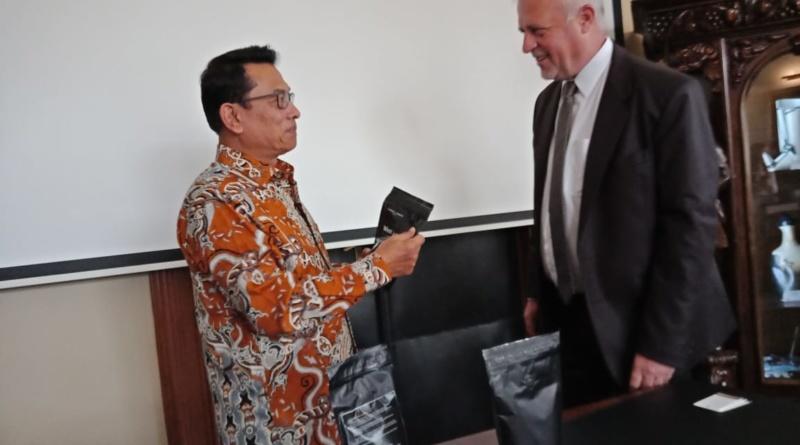 Diplomasi Kopi Ala Moeldoko ke Eropa