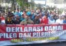 Deklarasi Pemilu Damai Tanpa Konvoi