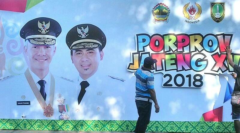 Opening Porprov Jateng 2018 di Stadion Sriwedari Sederhana