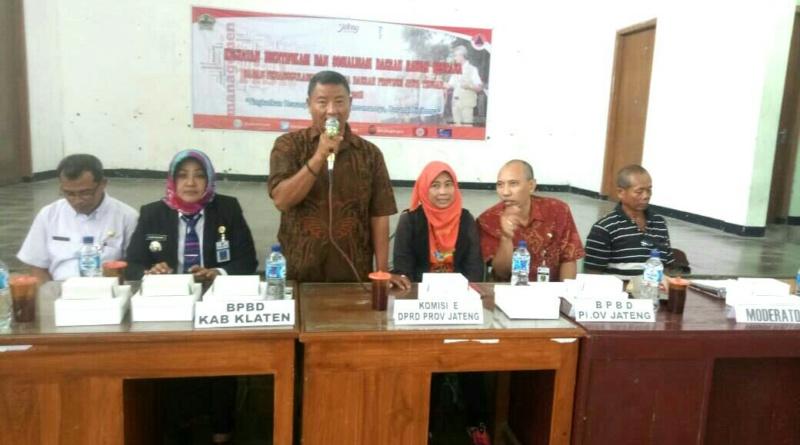 Bersama BPBD Jateng, Warga Gantiwarno Dimantapkan Deteksi Dini Bencana
