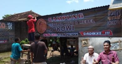 Kampung Sedulur Kayu Mebel Terus Bergerak Menangkan Jokowi