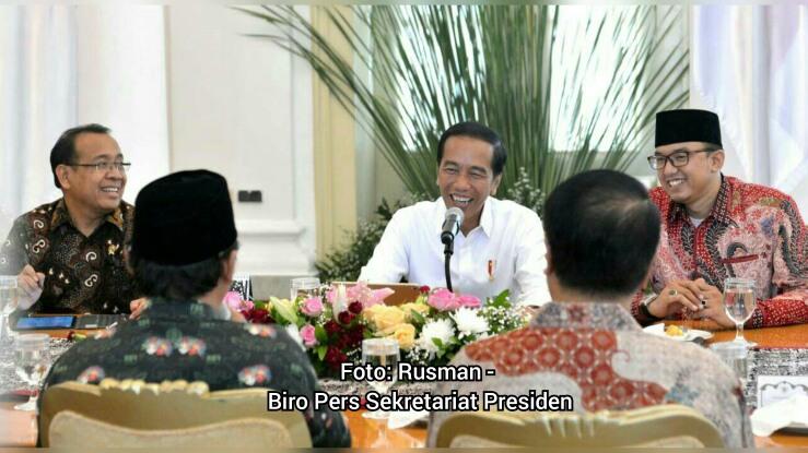 Presiden Menerima Masyarakat Adat Betawi