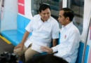 Momen Pertemuan Presiden Jokowi dan Prabowo Subianto