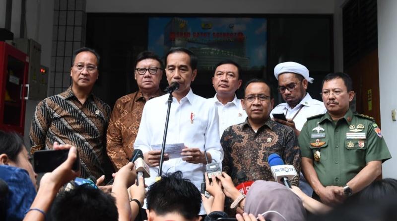 Presiden Jokowi: Usut dan Tindak Tegas Pelaku Serangan ke Menkopolhukam