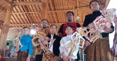 Bikin Film Dokumentar, Kwartet Dalang Cilik Pentaskan  'Sang Hanuman'