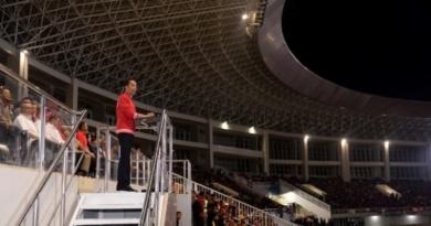 Presiden: Stadion Manahan Sangat Megah, Siap Gelar Piala Dunia FIFA U20