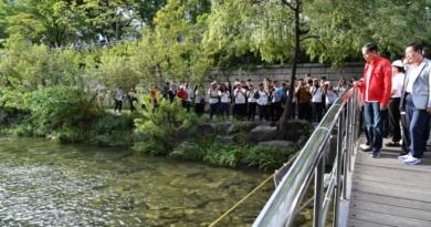 Presiden Ingin Ciliwung Seperti Sungai Cheonggyecheon di Korea