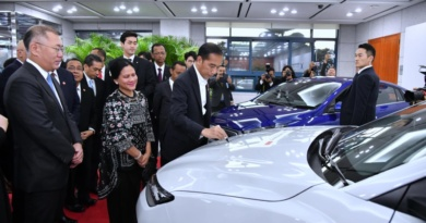 Presiden Jokowi Kunjungi Pabrik Hyundai di Ulsan