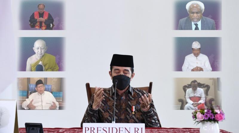 Pimpin Acara Doa dari Rumah, Presiden: Usaha Lahiriah ...